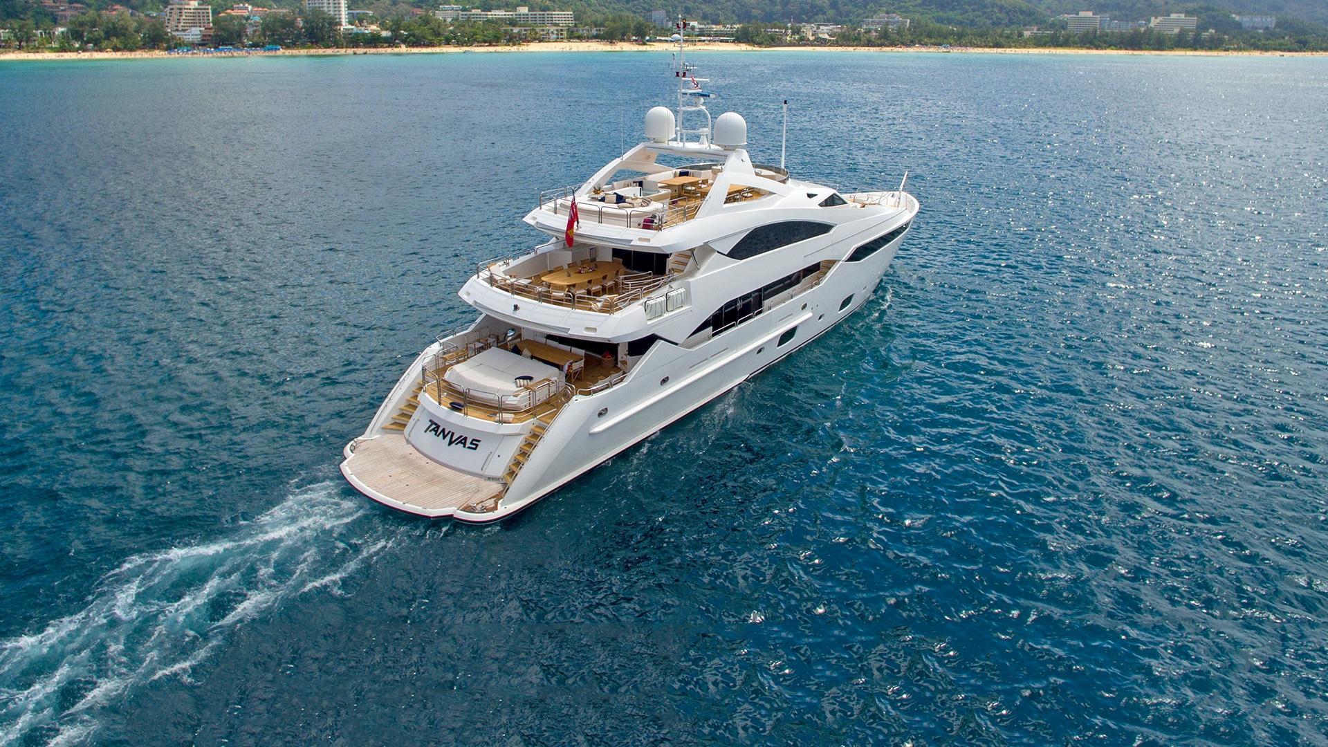 131 Foot Sunseeker Yacht Tanvas