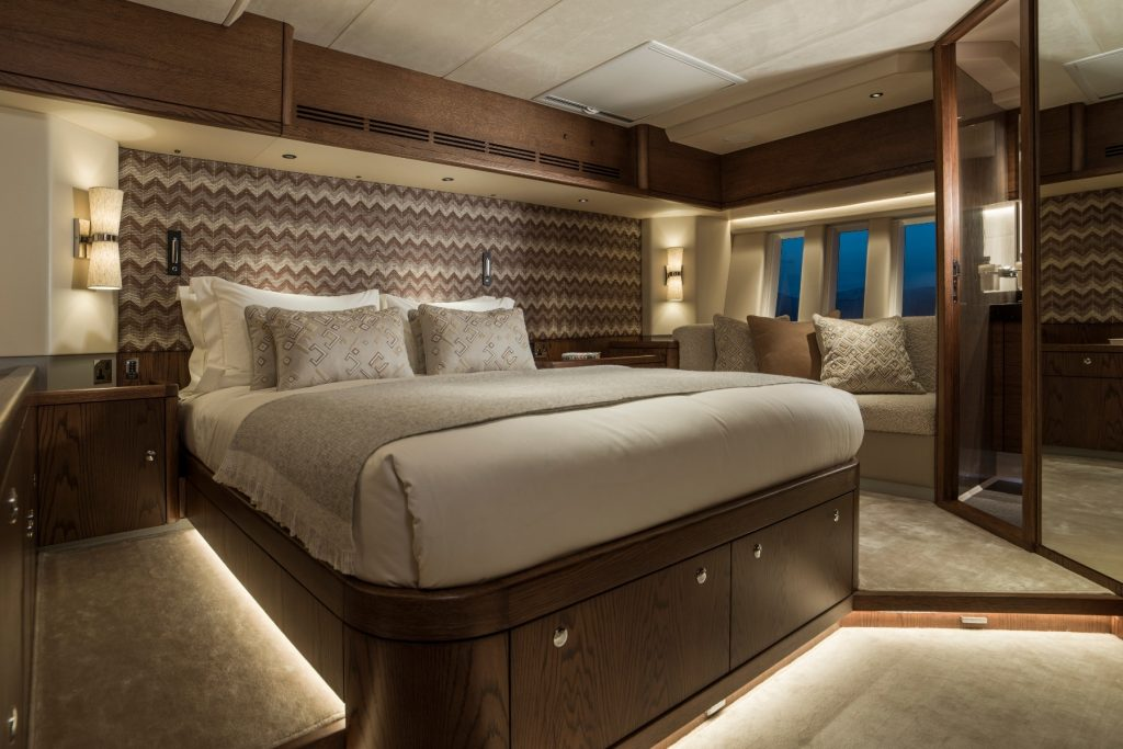 Oyster 885 90 Foot Sailing Yacht Interior Cabin
