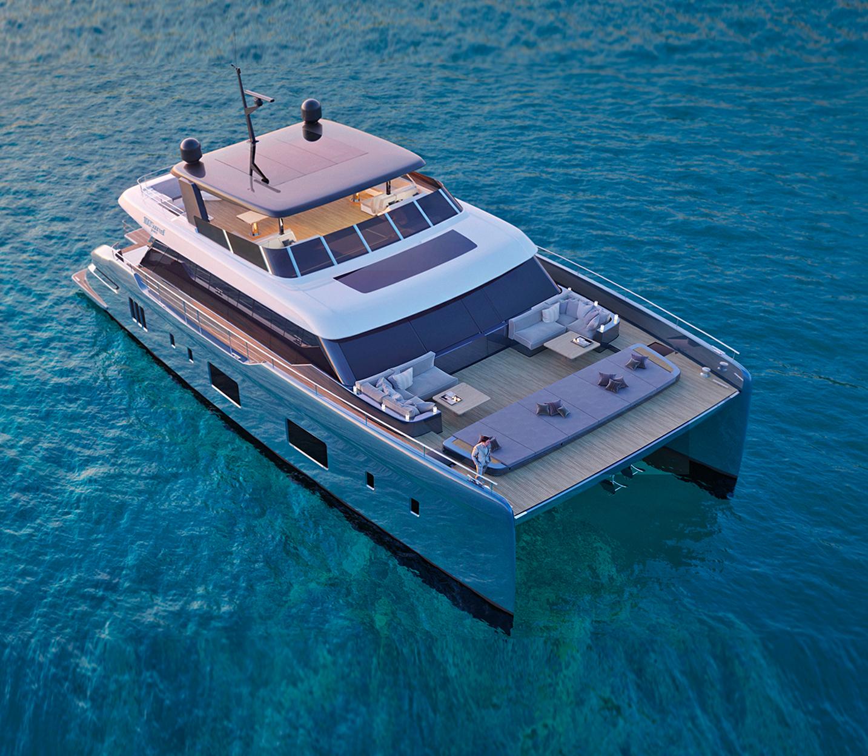 100 Sunreef Power Catamaran Superyacht
