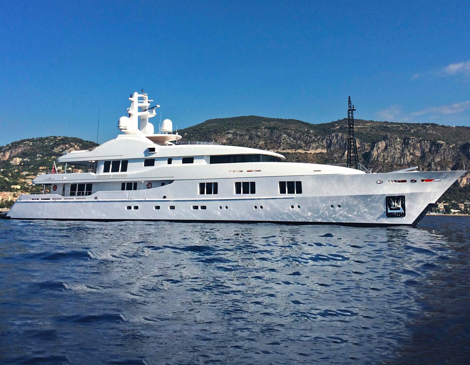 Baraka Superyacht by Turquoise Yachts