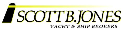 Scott B. Jones yacht & ship broker logo