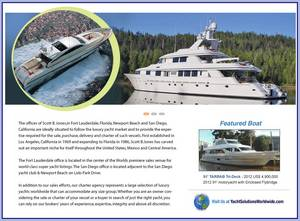 Scott B. Jones yacht & ship broker image